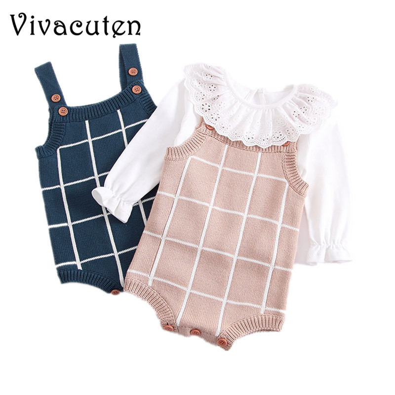 Baby Knitted Romper Cotton Woolen Baby Girls Boys Clothes ...
