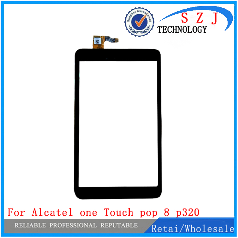 New 8'' inch case For alcatel one pop 8 p320x p320 P320A Touch Screen Panel Digitizer Glass Lens Replacement Repairing Parts original new genuine 11 6 inch tablet touch screen glass lens digitizer panel for hp x360 310 g1 replacement repairing parts