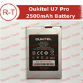 Oukitel U7 Pro Battery 100% Original 2500mAh Back-up Battery Replacement for Oukitel U7 Pro cellphone With in stock