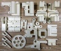 Reprap Prusa i3 rework ABS printed parts kit set carriage end idler belt holder corner top right left