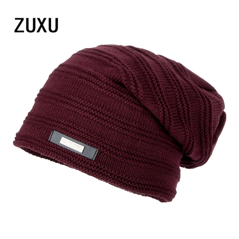 2017 Bonnet skullies men winter hat boy knitted beanie hats for men beanies warm caps gorro russian ushanka wool warm cap bone men s skullies winter gorros ski wool warm knitted cap beanie headgear hat nap skullies bonnet beanies cap hats for women gorro
