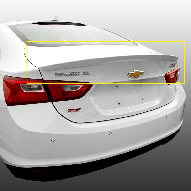 Pour Chevrolet Malibu XL 2016 2017 2018 2019 Aileron arrière, Coffre Ailes Spoilers peinture ABS 3m Pâte