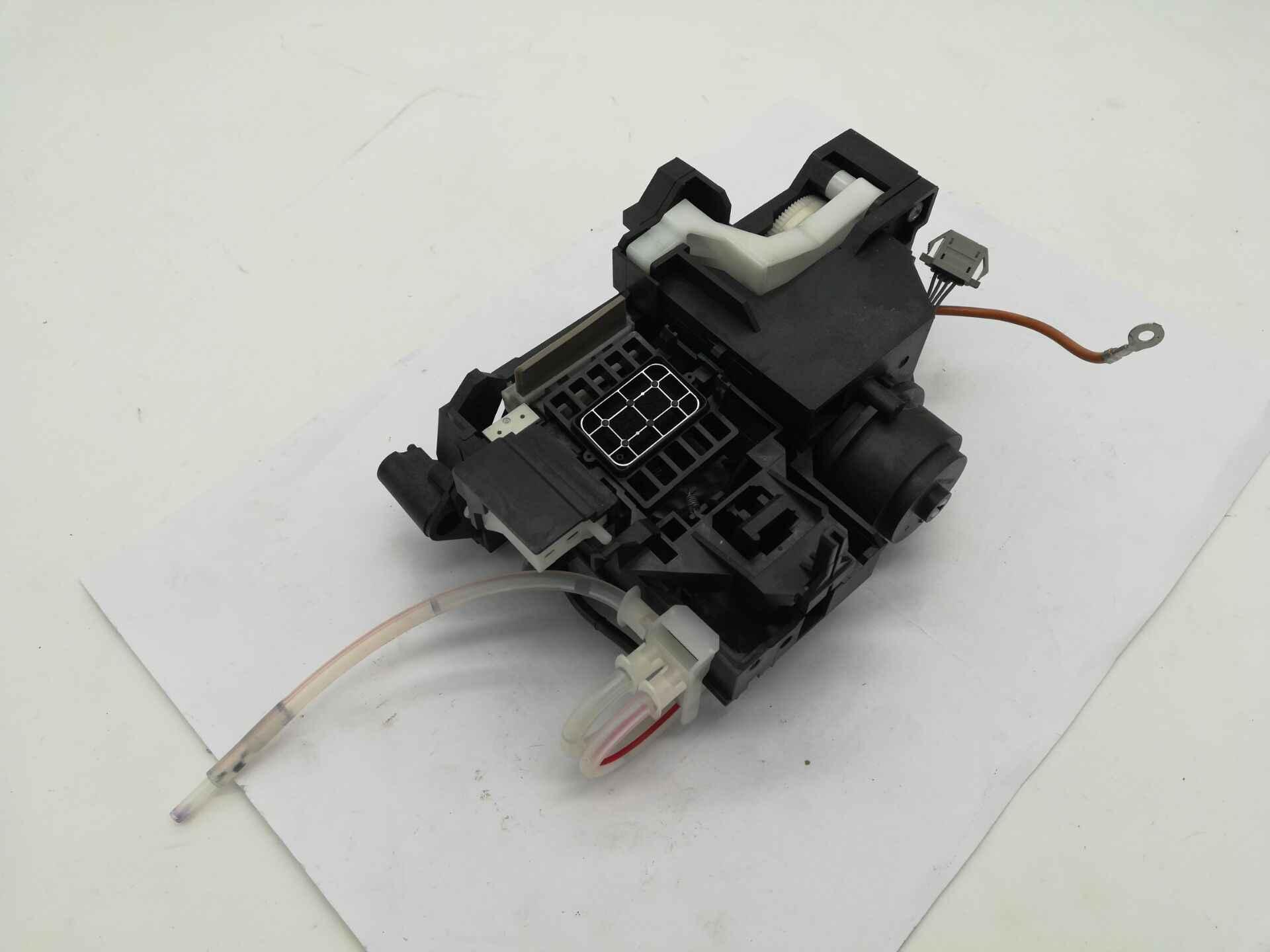 Estación de tapa de ensamblaje de bomba de tinta Original para Epson R1390 R1400 R1410 R1420 R1500 L1800 unidad de limpieza Assy 1555374-04