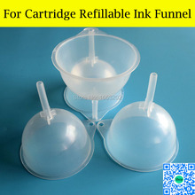 1 Lot Funnel Tundish PP Plastic Funnel Ink Refill Funnel And Liquid Refill Funnel цена