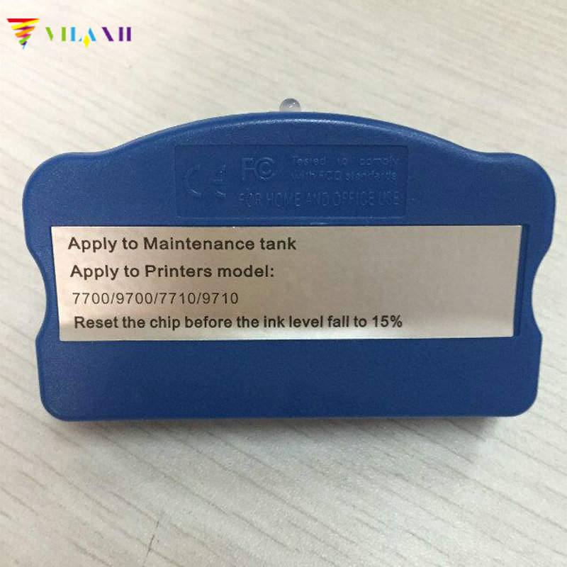 vilaxh Maintenance Tank Chip Resetter For Epson 7700 7710 9700 9710 Printer maintenance tank chip resetter for epson for epson 7700 9700 7710 9710 printer