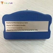 Vilaxh обслуживание бак чип укрыватель для epson 7700 7710 9700 9710 принтер
