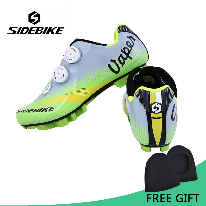 Sidebike Professional Lightweight Cycling Shoes MTB Self-Locking Bike Shoes Bicycle Shoes zapatillas ciclismo bicicleta sidebike mens road cycling shoes breathable road bicycle bike shoes black green 4 color self locking zapatillas ciclismo 2016