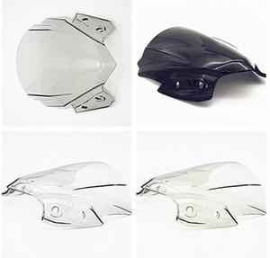 For Kawasaki Z650 2017 Windscreen Windshields Flyscreen Black/Clear Fairing Cover Z650 2017