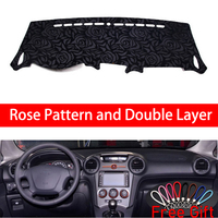 Rose Pattern For kia carens 2007 2008 2009 2010 2011 Cover Car Stickers Car Decoration Car Accessories Interior Car Decals