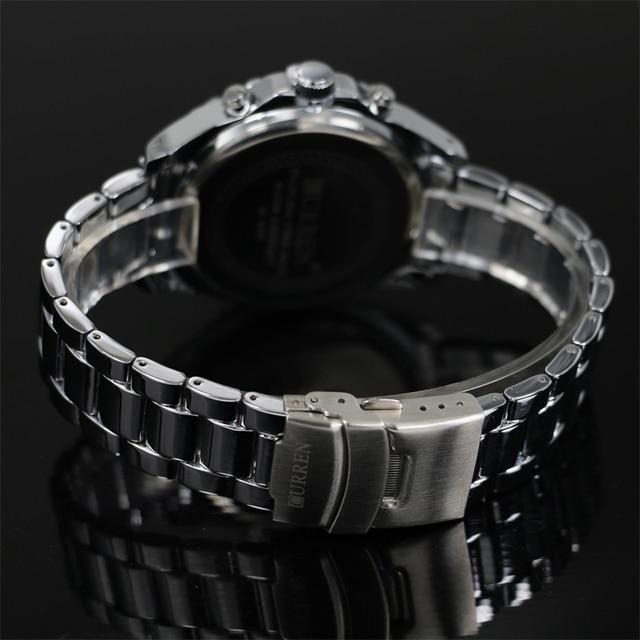 2016 Top Brand Luxury Men's Watches Men Wristwatches Stainless Steel Strap Business Dress Watch Reloj Hombre Time Clock Men