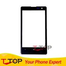 Переднее стекло датчик для Nokia Lumia 1020 N1020 Сенсорная панель Внешний объектив панель 1 шт./лот