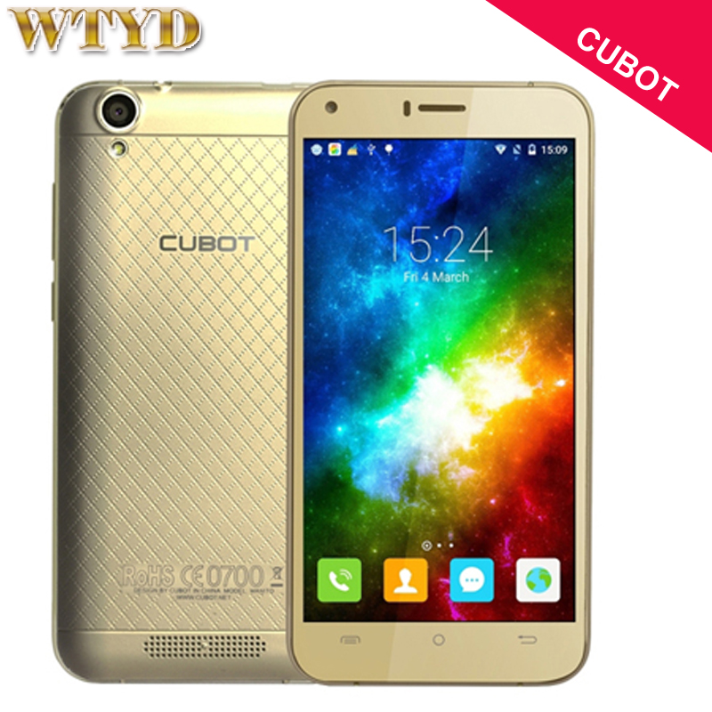 Original CUBOT Manito 16GB 3GB Network 4G 5 0 inch Android 6 0 MTK6737 Quad Core