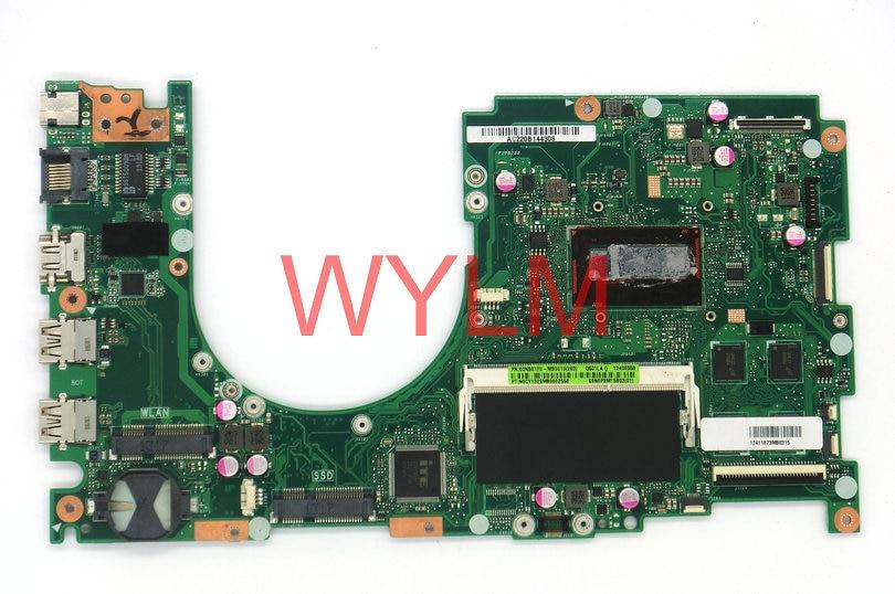 FREE SHPPING original Q501 Q501L Q501LA Laptop motherboard MAIN BOARD mainboard SR170 I5 CPU 60NB01F0-MB6010 100% Tested Well