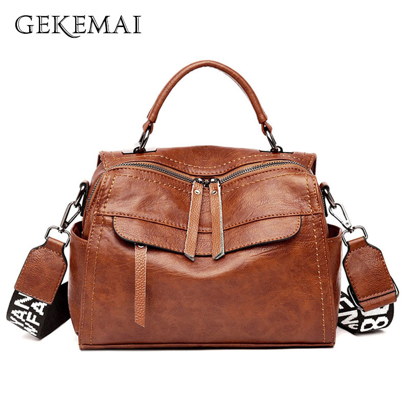 2019 New Luxury Ladies Handbags Sheepskin Leather Female Crossbody Bags For Women Sac A Main Designer Brand Casual Shoulder Bags
