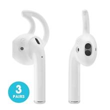 Ar acessórios de vagens vagens de ouvido caso Alça de Ganchos de Orelha fones de ouvido para fones de ouvido Da Apple fones de ouvido Capa de Silicone