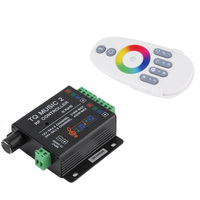 D13 Music LED RGB Controller DC12 24V Intelligent Sonic Sensitivity LED Backlight Control With RF Touch