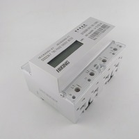 10 100 A 2 120V 208V 60HZ Two Phase Three Wire Din Rail KWH Watt Hour