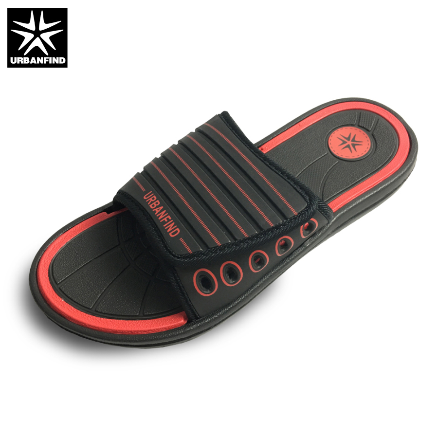 URBANFIND Men Summer Shoes Home Outside Casual Slippers EU Size 40 45 Brand Fashion Man Slides