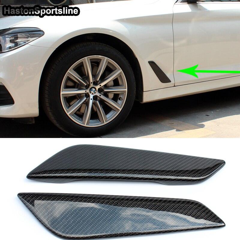 5 Series G30 Auto Car Side Fender Vent Trim for BMW G30 2017UP цена и фото