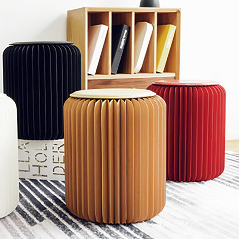Super Paper Stool Ottoman Folding Chair Design Pouf Chair Living Creativecarmelina Interior Chair Design Creativecarmelinacom
