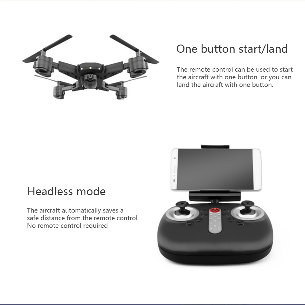 Image 3 - Drone ky601s RC Helicopter Drone with Camera HD 1080P WIFI FPV Selfie Drone Professional Foldable Quadcopter 20 Minutes Battery-in RC Helicopters from Toys & Hobbies