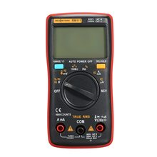 RM111 NCV True-RMS Digital Multimeter 9999 counts Auto Range Temperature Back light AC/DC Voltage Ammeter Multimeters все цены