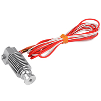 E3D V6 Metal J Head Hotend Extruder Kit For Bowden Reprap 3D Printer With Wire TE429