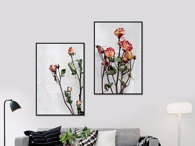 minimalist house plants rose flower flower plants minimalist minimalist painting
