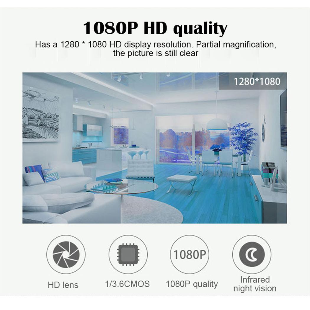 Bébé soins WiFi maison 1080 P surveillance de téléphone Mobile infrarouge 2.4 (mm) 10 m IP66 capteur alarme caméra sans fil - 3