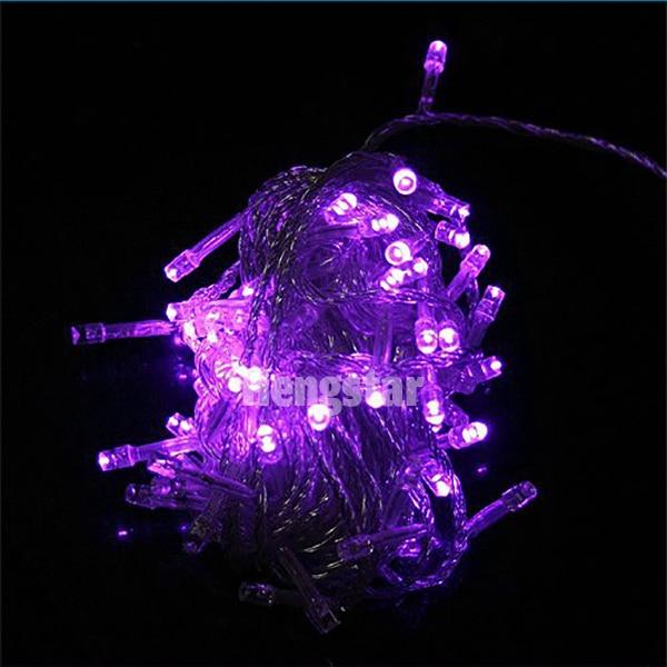 220v EU Plug 20m 200led rgb udhëhequr drita zanash për festën e - Ndriçimi i pushimeve - Foto 4