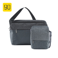Xiaomi Ecosystem 90FUN City Concise Series Shoulder Messager Crossbody Bag Water Resistant Daypack For School Men