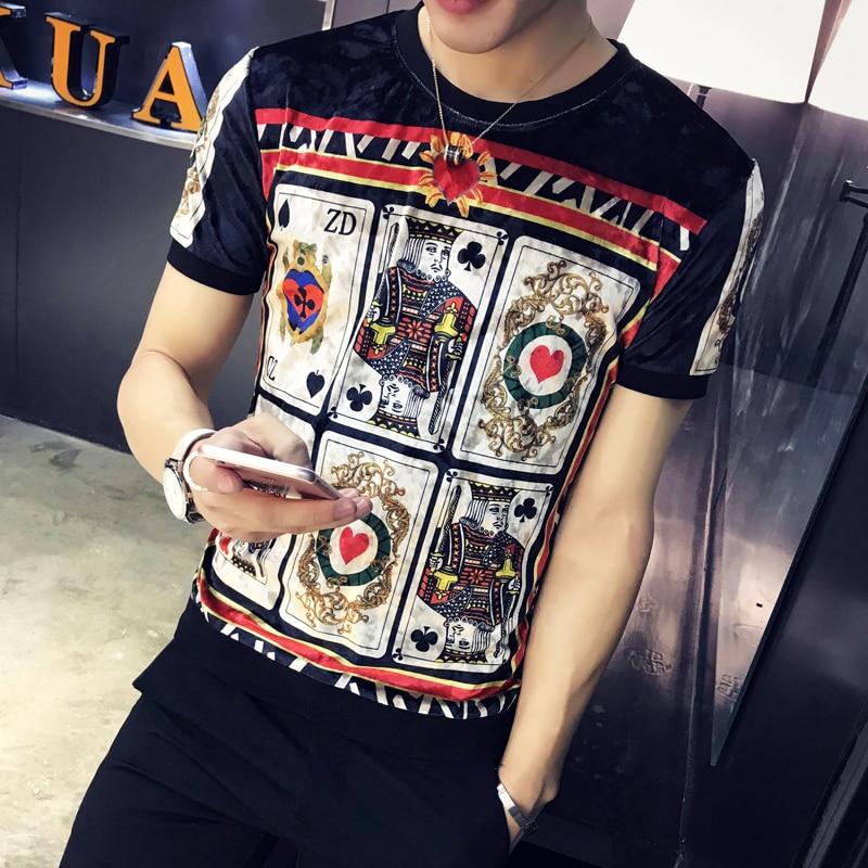 GODLIKE 2018 sommar ny stil kortärmad T-shirt mode personlighet - Herrkläder - Foto 2