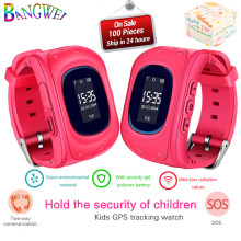 BANGWEI 2018 New Children Watches SOS Security Loss Prevention Kid GPS Smart Watch Remote Monitoring SmartWatch Relogio infantil(China)