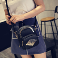 2016 New Fashion Style Women Messenger Bags High Quality PU leather Crossbodybags 3 Color And 2 Size Available Girl's Small Bags