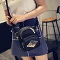 2016 Nuevo Estilo de Moda Las Mujeres Bolsas de Mensajero de Alta Calidad de LA PU cuero Crossbodybags 3 Color Y 2 Tamaño Disponible de la Muchacha Pequeño bolsas