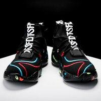 Men Casual Shoes Fashion Sneakers For Men Shoes Flyknit Flats Walking Shoes 45 46 47 tenis masculino adulto Zapatillas Hombre