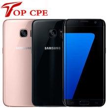 Оригинальный разблокированный Samsung Galaxy S7 Edge G935F G935V G935FD 5,5 ''4 Гб ОЗУ 32 Гб ПЗУ Wi-Fi 12 МП 1080P 4G LTE четырехъядерный телефон