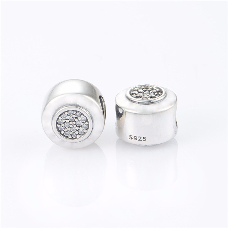 Fits-European-Charms-Bracelet-Authentic-925-Sterling-Silver-Original-Bead-Sparking-Round-Shaped-Charm-DIY-Jewelry (2)