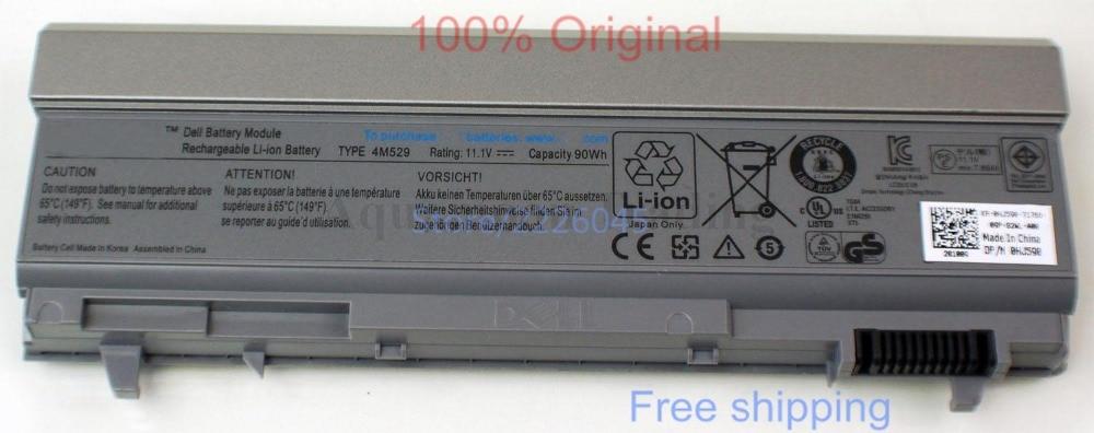 IECWANX 100% new Laptop Battery 4m529 (11.1V 7800mAh 9-Cell) for Dell Latitude E6400 E6410 E6500 E6510 Precision M2400 M4400