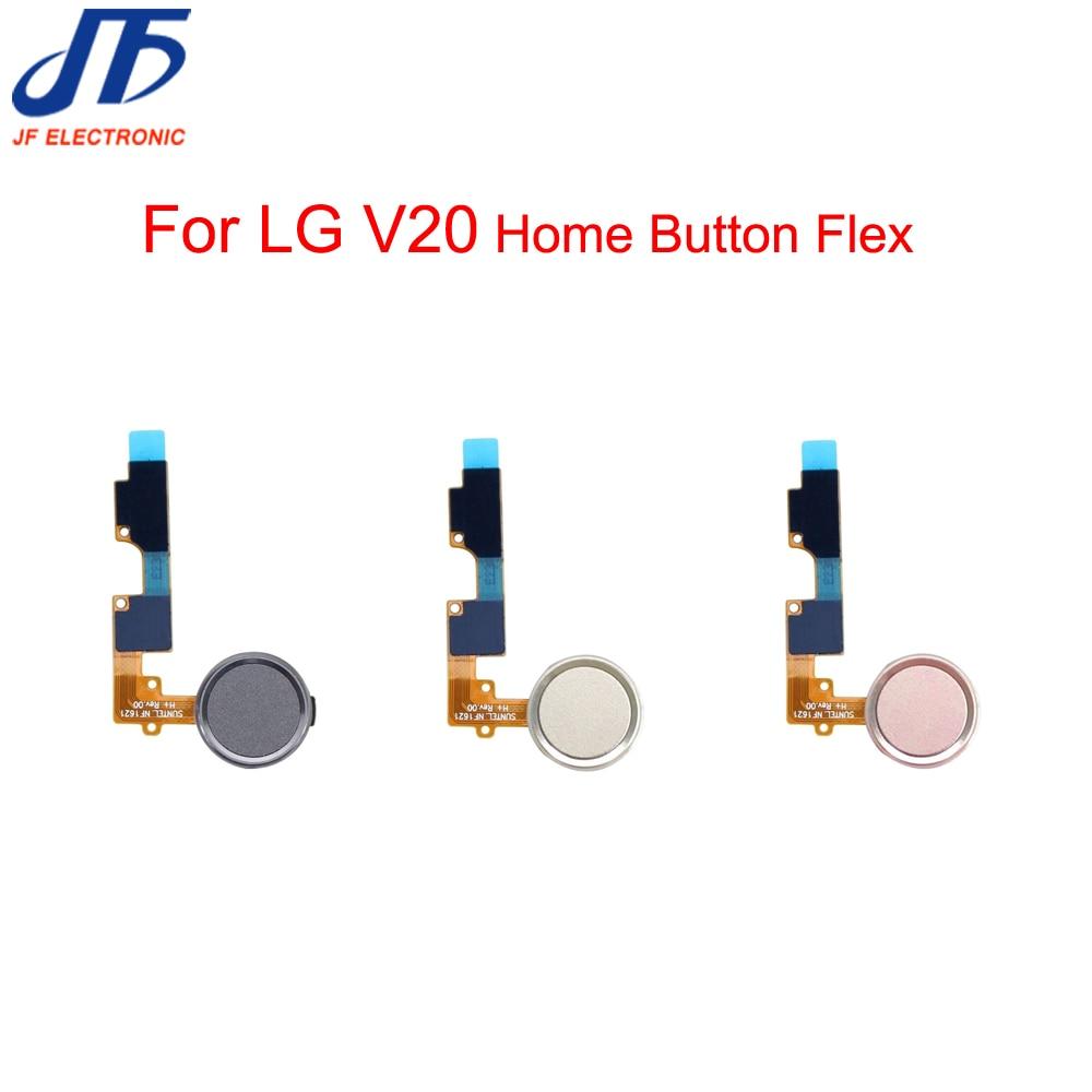 100% De Calidad Para Lg V20 De Huellas Digitales Touch Id Escáner Sensor Casa Botón De Retorno Clave Menú Teclado Flex Ribbon Cable 5 Unids/lote Adoptar TecnologíA Avanzada