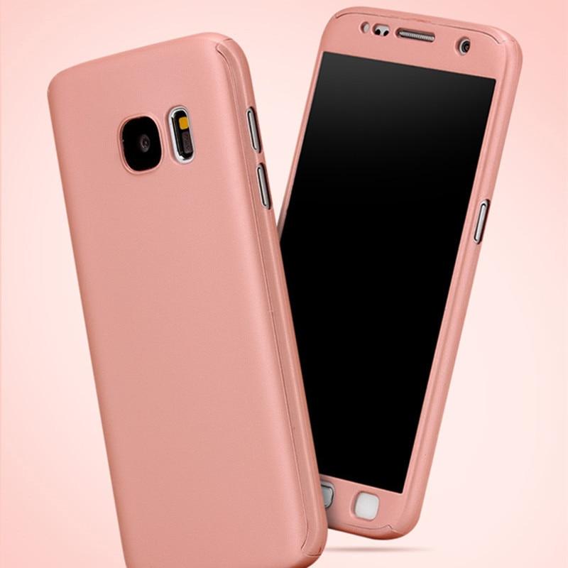 Lyxfodral för Samsung Galaxy S6 kant S7 kant 360 graders - Reservdelar och tillbehör för mobiltelefoner - Foto 4