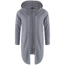 b9b88837d4b1 2018 Autumn Men's Hoodies Mantle Sweatshirts Fashion Long Sleeve Hooded Hip-hop  Outwear Casual Streetwear