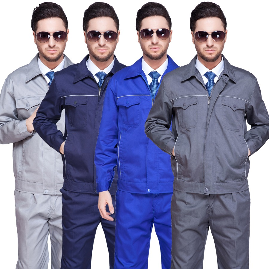 10 Set Long-sleeve Work Wear Set Male Work Clothes Tooling Protective Clothing