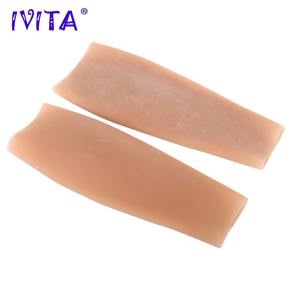 IVITA 150g Realistic Silicone Beautiful Leg Suit for Crossdresser Transgender Shemale Leg Enhancement Artifical Silicone Forms
