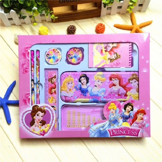 Cartoon Snow White Nursery School Supplies Stationery Gift Sets Primary Children Prizes
