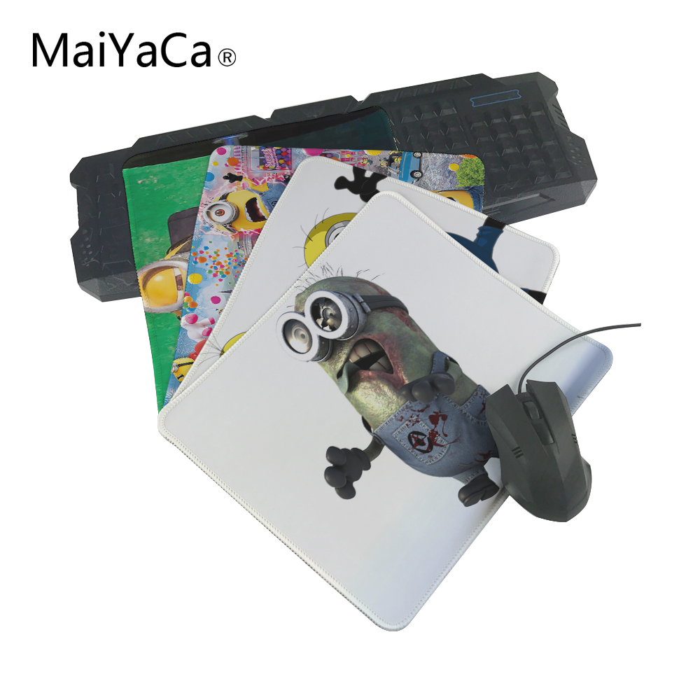 MaiYaCa The best choice for gifts Minions New MousePads for Size 18x22cm and 25x29cm OverLock Mouse Pad