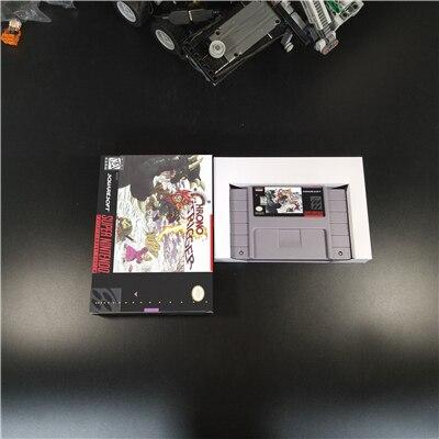 Chrono déclencheur avec boîte de vente au détail RPG jeu batterie sauver USA Version