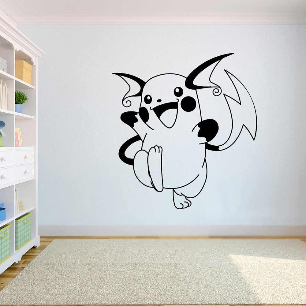 Raichu Vinyl Poster Pokemon Go Vinyl Wall Stickers Home