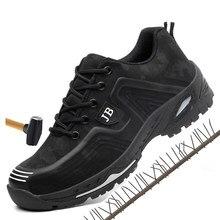 d30b2e1ac1 Los hombres de primavera y verano transpirable luz desodorante ZAPATOS DE  TRABAJO DE SEGURIDAD DE punta de acero zapatos de segu.