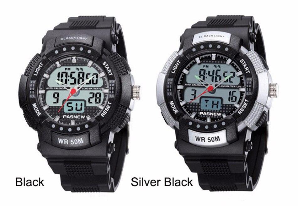361 - detail - 2018 Free Shipping Fashion Men Watch Waterproof Sport Men Wristwatch S Quartz Digital Boy Clock Relogio Masculino (5)